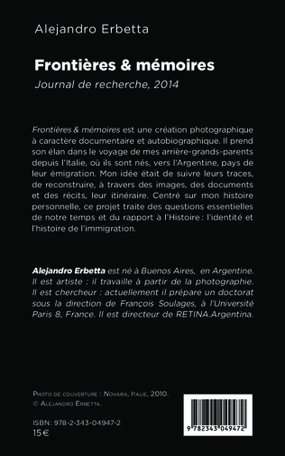 4eme Frontières & mémoires