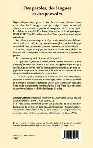 4eme L'OUVRAGE DE B. MAURER (2011) : UNE RELECTURE