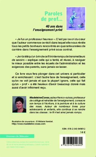 4eme Paroles de prof...