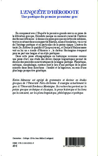 4eme L'<em>enquête</em> d'Hérodote