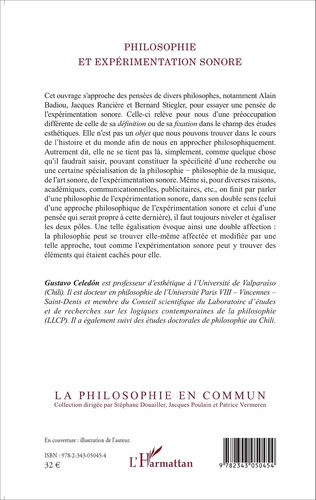 4eme Philosophie et expérimentation sonore