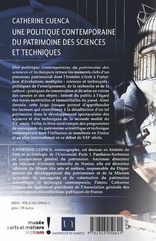 4eme Une politique contemporaine du patrimoine des sciences et techniques