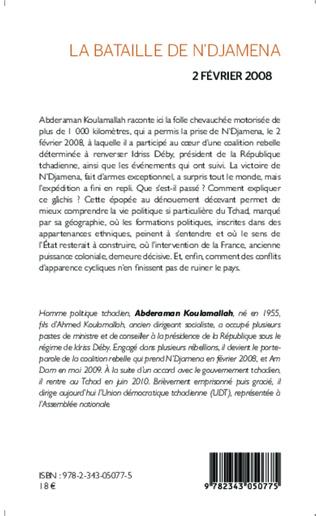 4eme La bataille de N'Djamena 2 février 2008 Récit