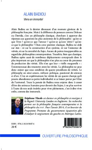 4eme Alain Badiou