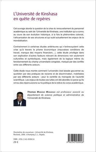 4eme L'Université de Kinshasa en quête de repères