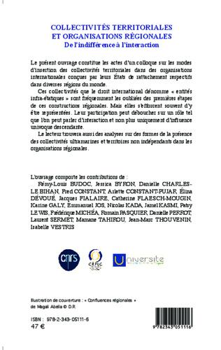 4eme Collectivités territoriales et organisations régionales