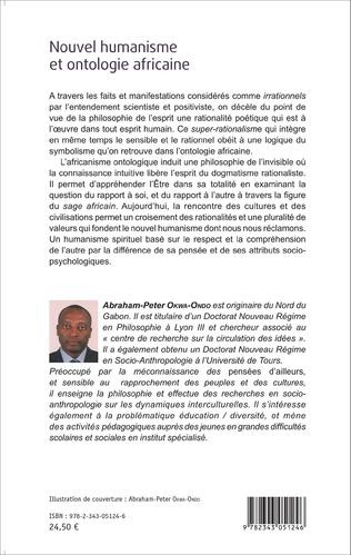 4eme Nouvel humanisme et ontologie africaine