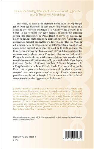4eme Les médecins-legislateurs et le mouvement hygiéniste sous la troisième République