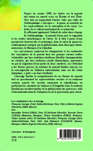 4eme Tout reste en famille (transnationale). Des alternatives pour élever les enfants des migrants mexicains