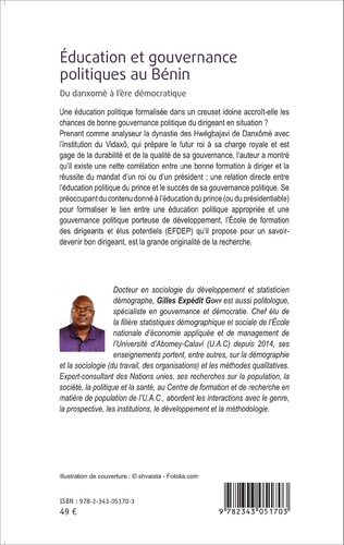 4eme Éducation et gouvernance politique au Bénin