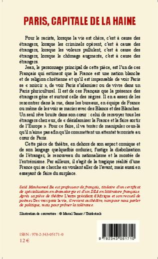 4eme Paris, capitale de la haine