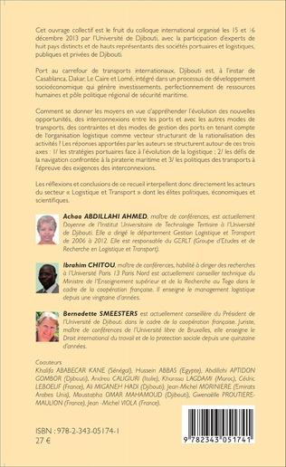 4eme Stratégie logistique et de transport au service du développement en Afrique
