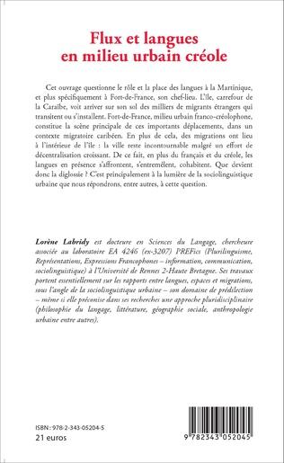 4eme Flux et langues en milieu urbain créole