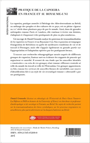 4eme Pratique de la capoeira en France et au Royaume-Uni