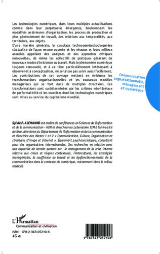 4eme Communication organisationnelle, management et numérique