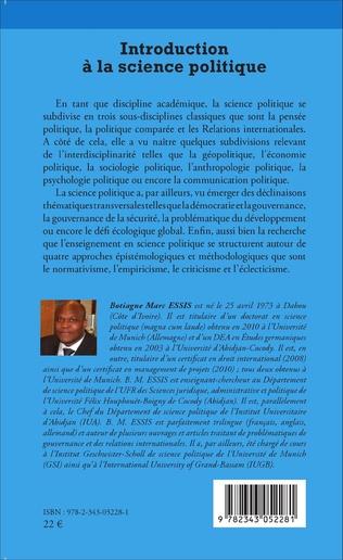 4eme Introduction à la science politique