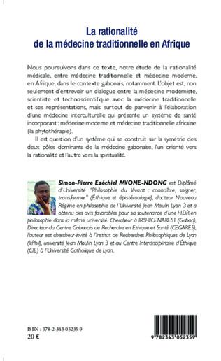 4eme La rationalité de la médecine traditionnelle en Afrique