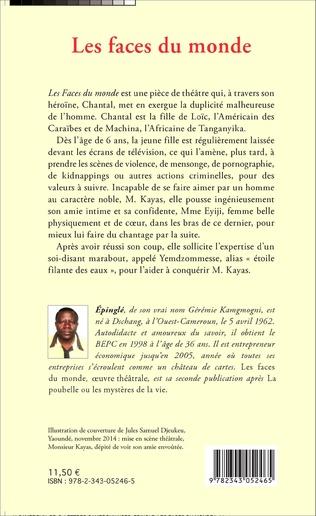 4eme Les faces du monde. Théâtre