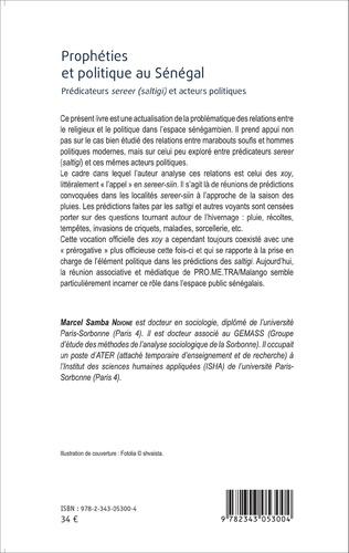 4eme Prophéties et politique au Sénégal