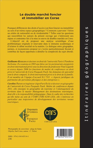 4eme Le double marché foncier et immobilier en Corse