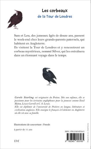 4eme Les corbeaux de la Tour de Londres