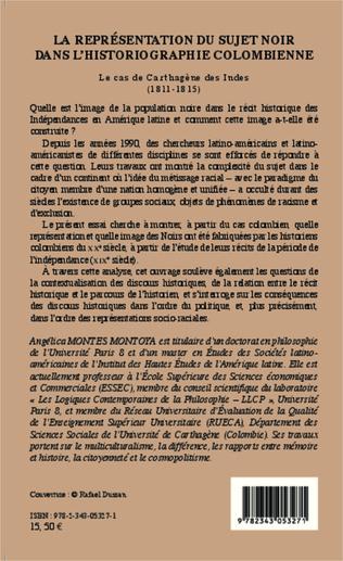 4eme La Représentation du sujet noir dans l'historiographie colombienne