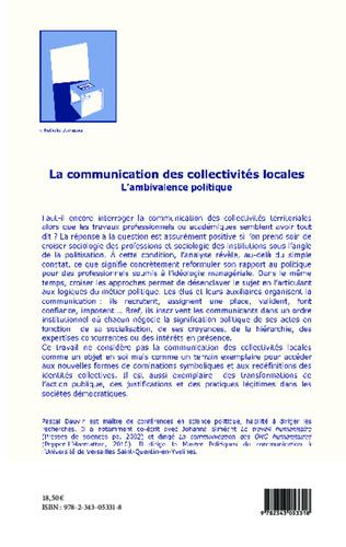 4eme La communication des collectivités locales