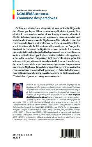 4eme Ngaliema (Kinshasa) Commune des paradoxes