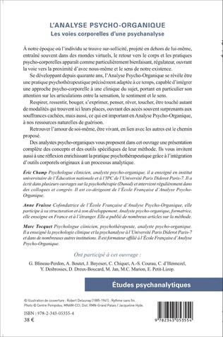 4eme L'analyse psycho-organique