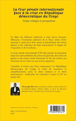 4eme La Cour pénale internationale face à la crise en République démocratique du Congo