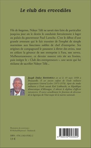 4eme Le club des crocodiles. Roman