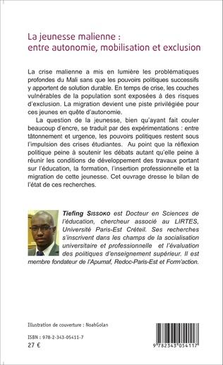 4eme La jeunesse malienne : entre autonomie, mobilisation et exclusion