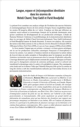 4eme Langue, espace et (re)composition identitaire