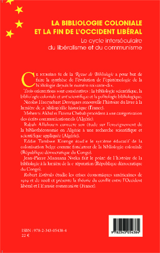 4eme La bibliologie coloniale et la fin de l'Occident libéral