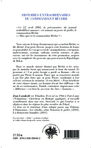 4eme Histoires extraordinaires du Commandant Béchir