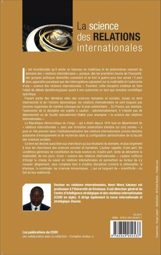 4eme La science des relations internationales