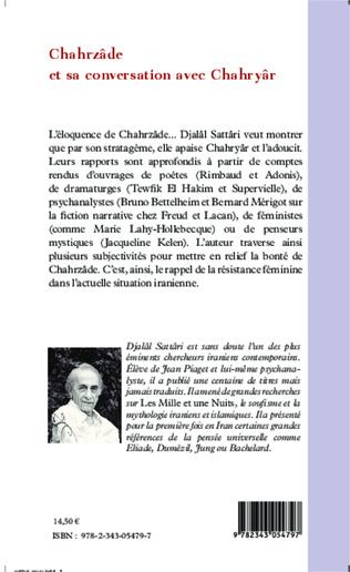 4eme Chahrzâde et sa conversation avec Chahryâr