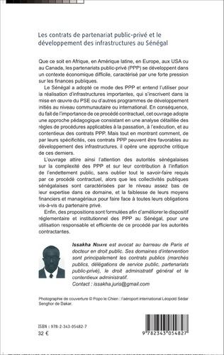 4eme Les contrats de partenariat public-privé et le développement des infrastructures au Sénégal