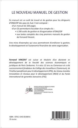 4eme Le nouveau manuel de gestion des associations et ONG de développement