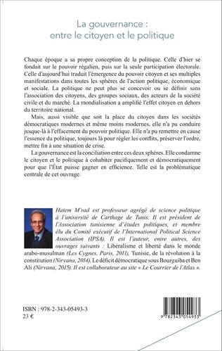 4eme La gouvernance : entre le citoyen et le politique