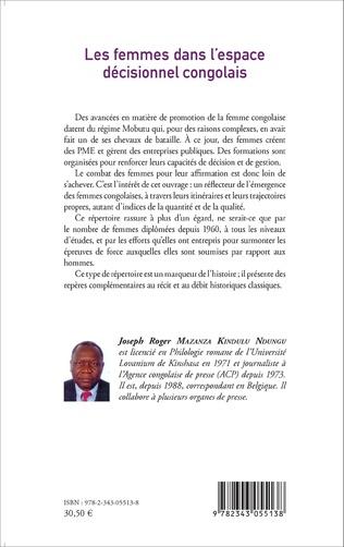 4eme Les femmes dans l'espace décisionnel congolais