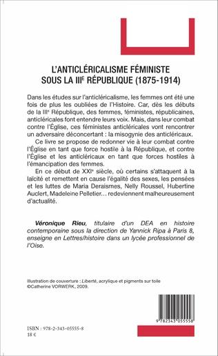4eme L'anticléricalisme féministe sous la IIIe République (1875-1914)