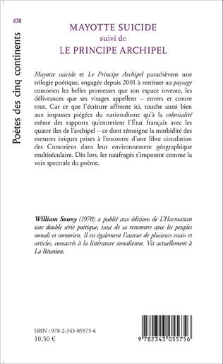 4eme Mayotte suicide suivi de Le principe archipel
