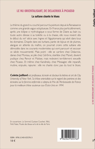 4eme Le nu orientalisant, de Delacroix à Picasso