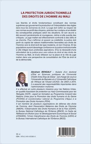 4eme La protection juridictionnelle des droits de l'homme au Mali