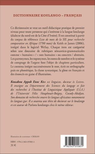 4eme Dictionnaire Koulango-Français