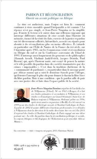 4eme Pardon et réconciliation