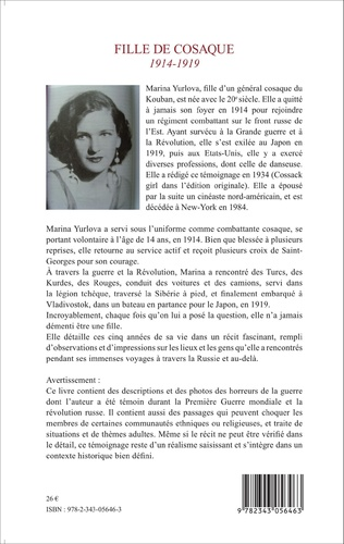 4eme Fille de cosaque 1914-1919