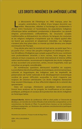 4eme Les droits indigènes en Amérique latine