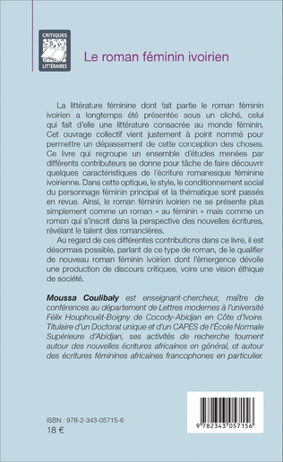 4eme Le roman féminin ivoirien